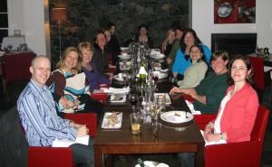 tmic offsite strategy 2010 dinner