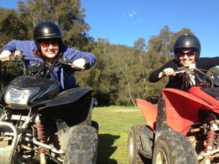 TMIC Strategy 2013 - Mel & Mary Quad Biking